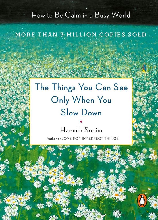 Boek cover The Things You Can See Only When You Slow Down van Haemin Sunim (Hardcover)