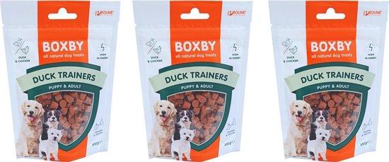 Proline boxby, duck trainers. Inhoud: 100 gram. per 3 zakjes