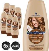 Schwarzkopf Repair & Care Conditioner 250 ml - 6 stuks - Voordeelverpakking
