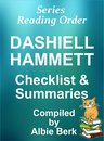 Dashiell Hammett: Series Reading Order - with Summaries & Checklist