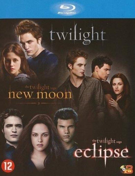 Cover van de film 'Twilight Saga 1 t/m 3'