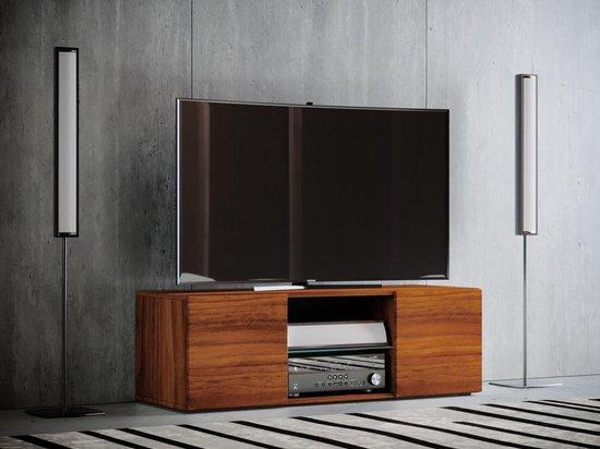 Massief Noten Tv Meubel.Bol Com Tv Meubel Kast Lowina 115 Cm Noten