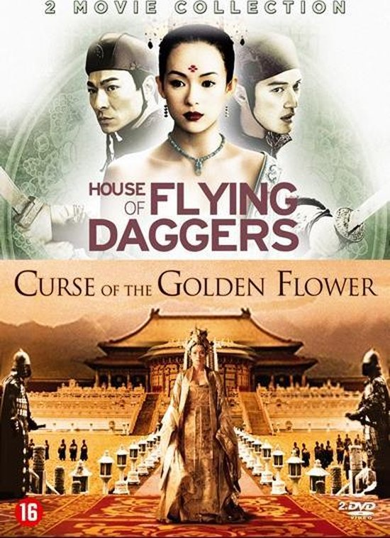Cover van de film 'House Of Flying Daggers/Curse Of The Golden Flower'