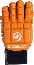 Brabo Full Finger Foam F3 Sr. - Zaalhockeyhandschoen - Links - Maat XS - Oranje
