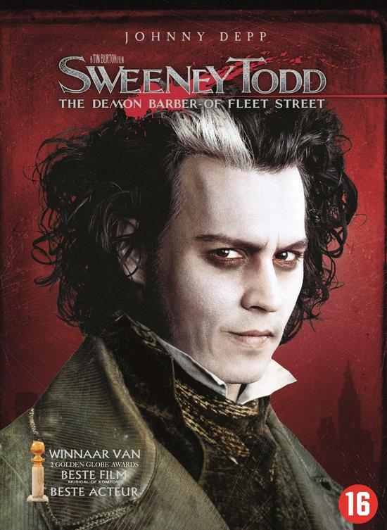 Cover van de film 'Sweeney Todd - Demon Barber Of Fleet Street'