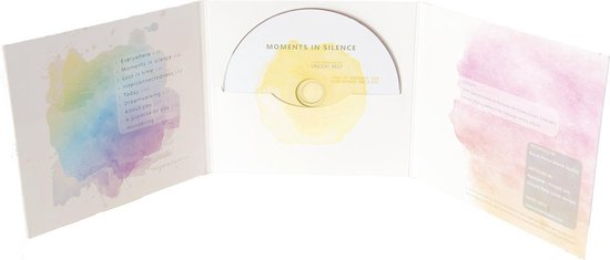 Moments in Silence (CD) - voor meditatie, yoga en ontspanning -  HSP -