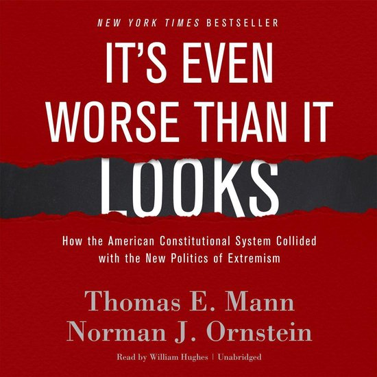 Boek cover Its Even Worse Than It Looks van Thomas E. Mann (Onbekend)