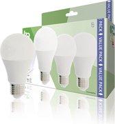 HQ HQLE27A603P02 Led Lamp  3 stuks  E27 A60 9 W 806 Lm 2700 K