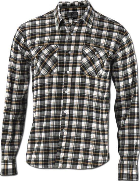 Wolf Camper Forest heren shirt terracotta