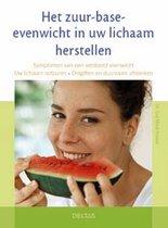 Boek cover Het zuur-base-evenwicht in uw lichaam herstellen van E.-M. Kraske
