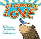 Boek cover All You Need Is Love van John Lennon