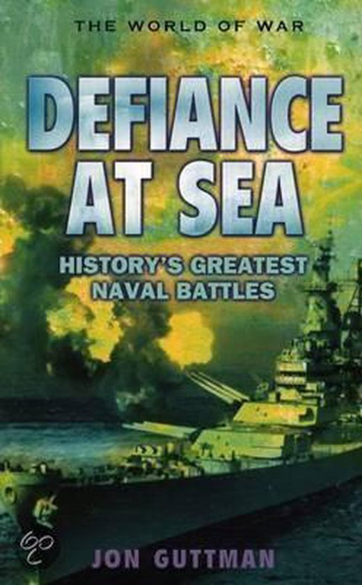 Boek cover Defiance at Sea van Jon Guttman (Hardcover)