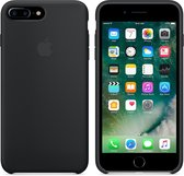 Apple Siliconen Back Cover voor iPhone 7/8 Plus - Zwart
