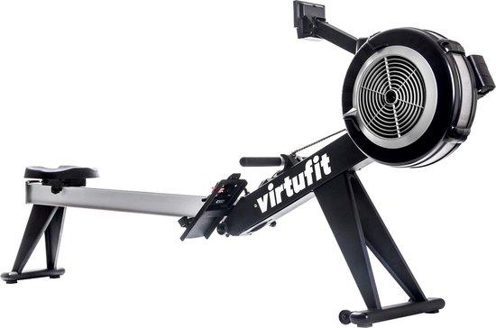 Roeitrainer - VirtuFit Ultimate Pro 2 Ergometer - Roeimachine - Roeiapparaat - Hartslagfunctie - Inklapbaar - Zwart