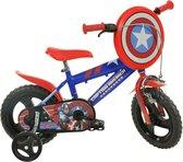 Dino 412ul-ca Captain America - Kinderfiets - Jongens - Blauw - 12 Inch