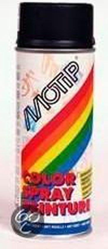 Motip Dupli-Color Spuitbus Acryl Zijdeglans - RAL 9005 Gitzwart