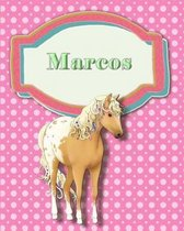 Handwriting and Illustration Story Paper 120 Pages Marcos