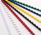 bindruggen ProfiOffice 21 rings 100 stuks 6mm transparant