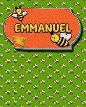 Handwriting Practice 120 Page Honey Bee Book Emmanuel