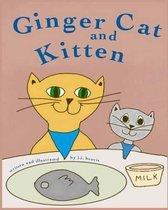 Ginger Cat and Kitten