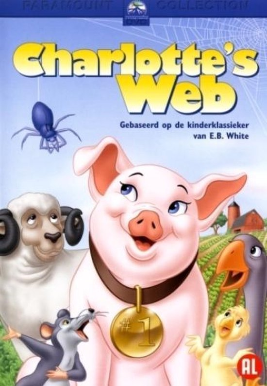 Cover van de film 'Charlottes Web'