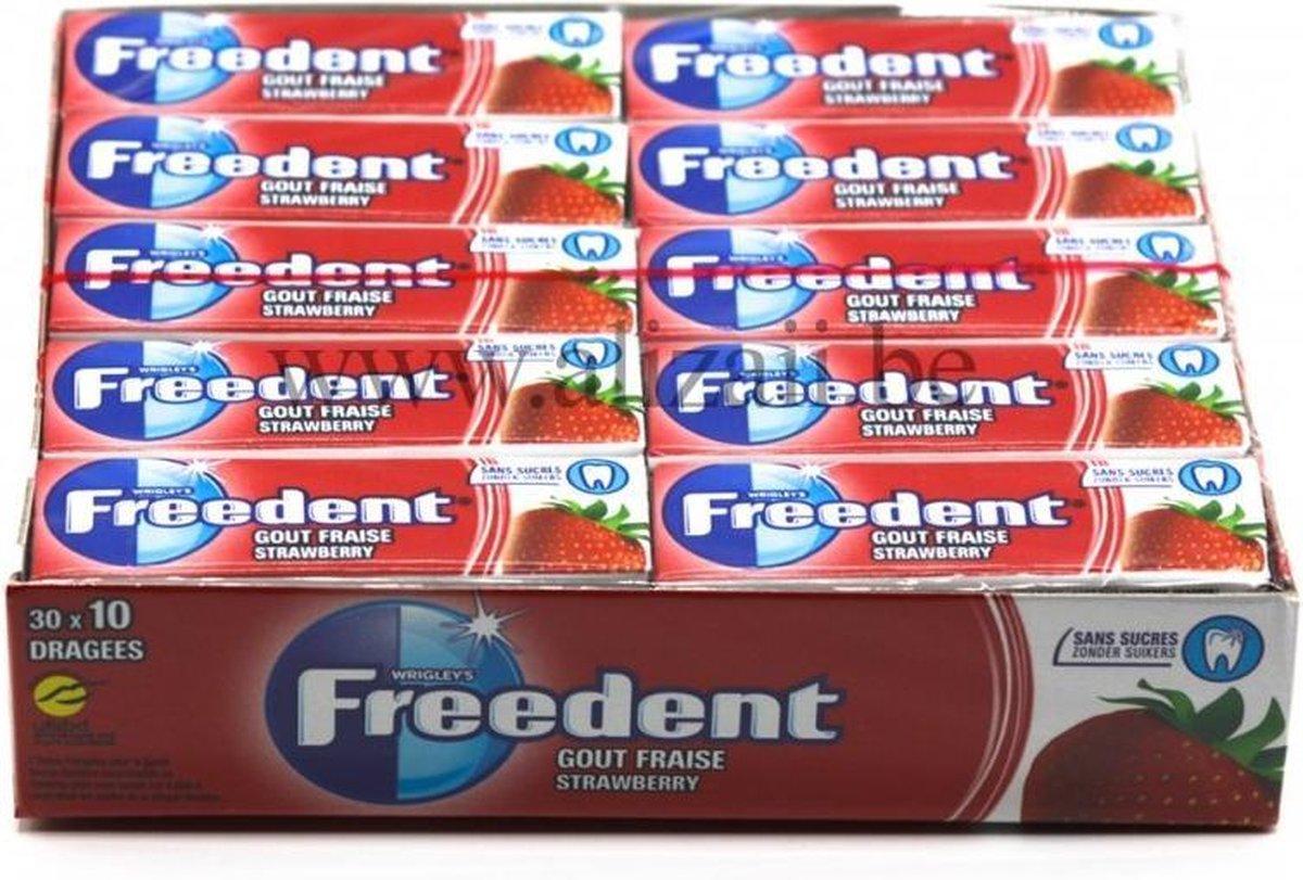 Freedent Strawberry Kauwgom