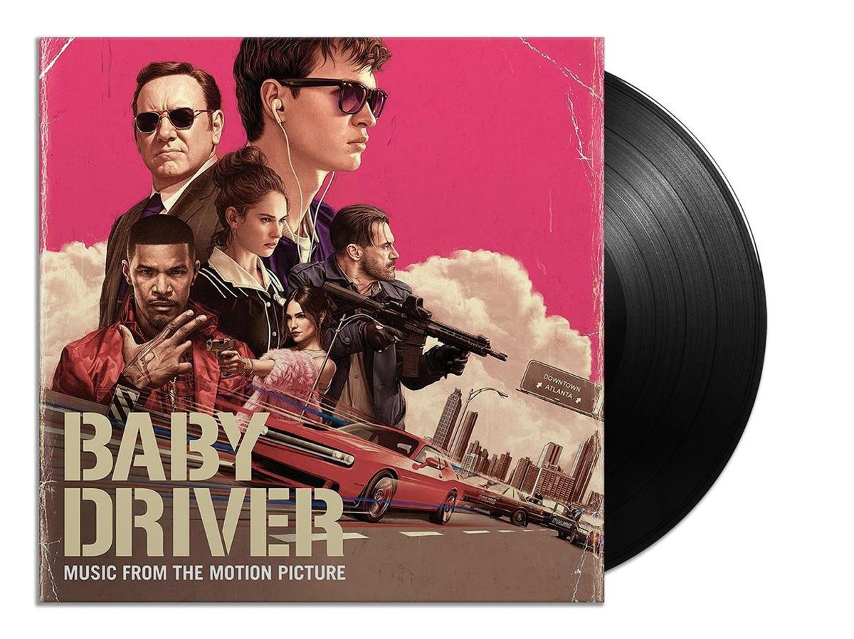 Baby Driver (Music from the Motion Picture) (LP) - various artists