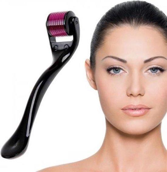 Dermaroller 0.3mm Needle - Micro Needling Roller - Anti Acne/Cellulitis/Rimpels/Littekens/Striae Lichaams & Gezichts Roller