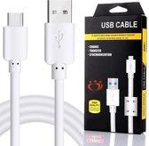 Olesit K107 USB-C USB Kabel 1.5 Meter 30% Sneller Laden  2.1A High Speed Laadsnoer Oplaadkabel - Data Sync & Transfer - voor Tablets met USB-C o.a. Apple iPad Pro 11 - Samsung Tab S6 / S5e