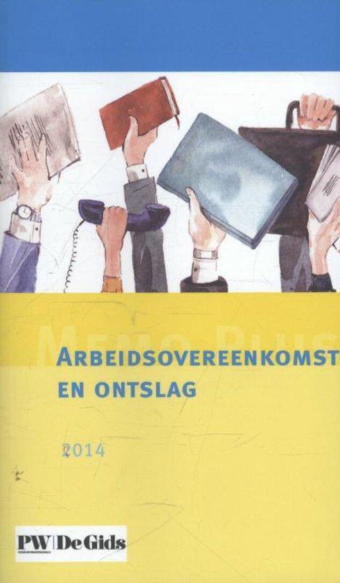 Memo plus abeidsovereenkomst en onslag 2014 - none pdf epub