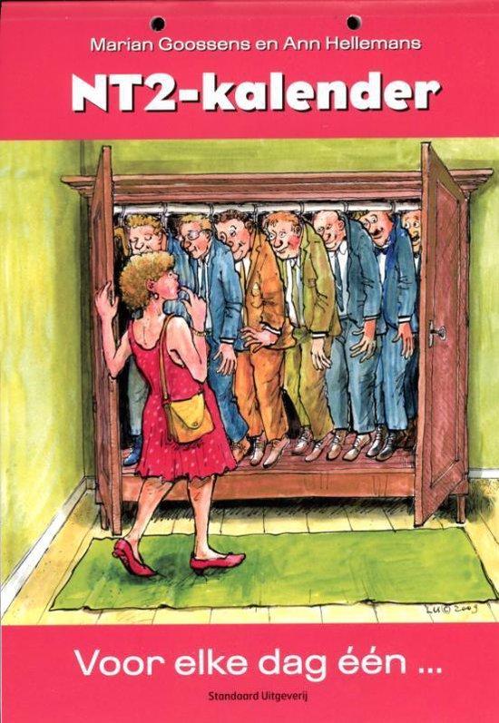 Boek cover NT2-kalender van Marian Goossens