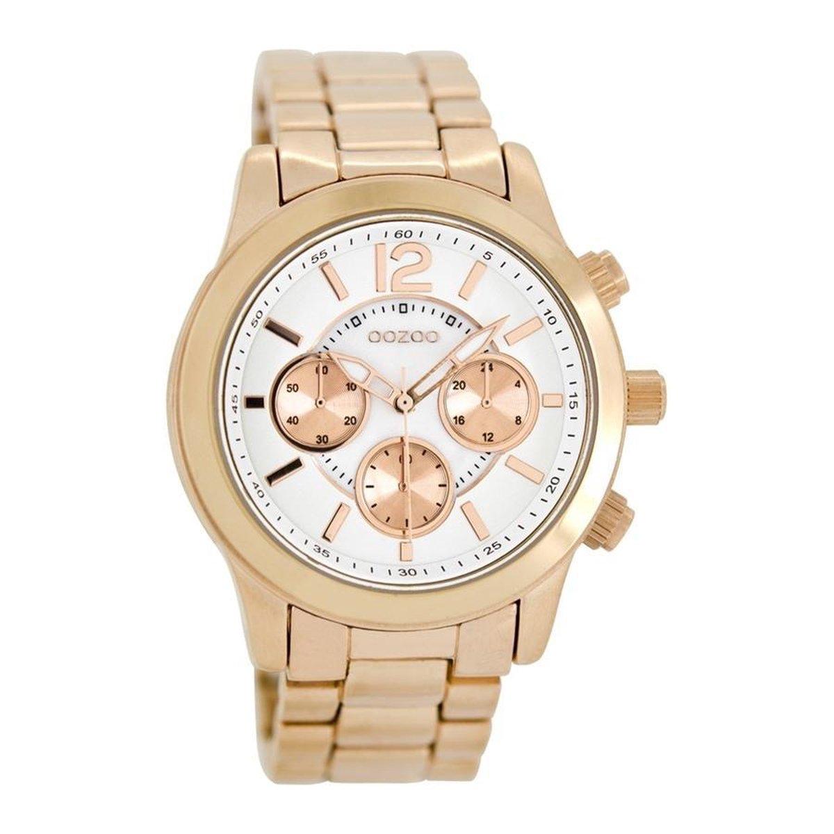 | OOZOO Timepieces Rosegoud horloge C8413 (40 mm)