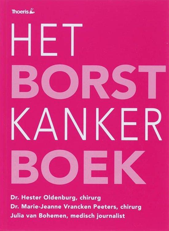Cover van het boek 'Het Borstkanker Boek'
