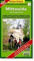 Radwander-und Wanderkarte Mittweida und Umgebung 1 : 50 000