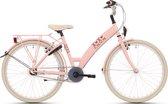 Kinderfiets Bike Fun Lots of Love meisjes 24 inch nexus 3 roze