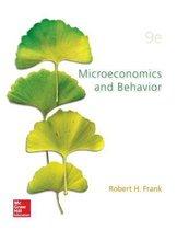 Boek cover Microeconomics and Behavior van Robert Frank