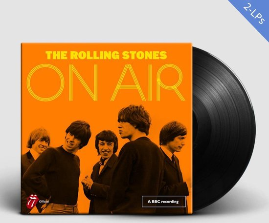 Bol Com The Rolling Stones On Air Lp The Rolling Stones Lp Album Muziek