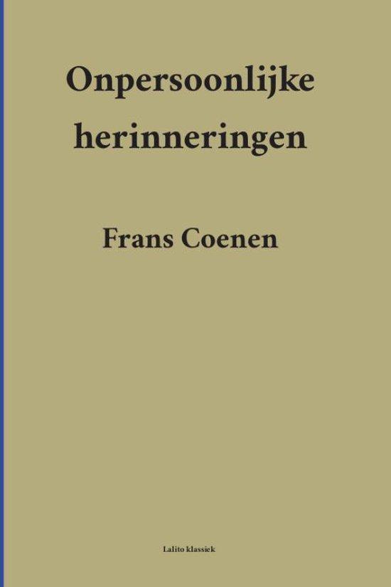 Lalito Klassiek - Onpersoonlijke herinneringen - Frans Coenen  
