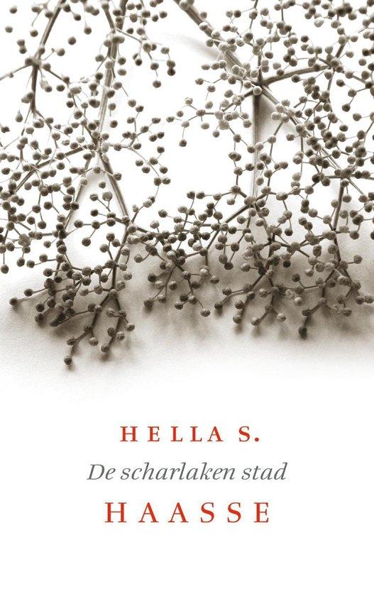 Boek cover De scharlaken stad van Hella S. Haasse (Onbekend)