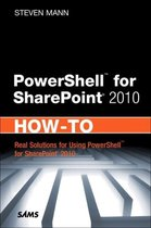 PowerShell for SharePoint 2010 How-To