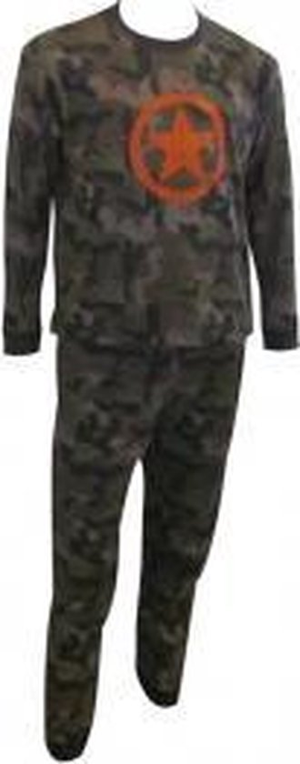 Fun2wear Army Star Pyjama Maat 98