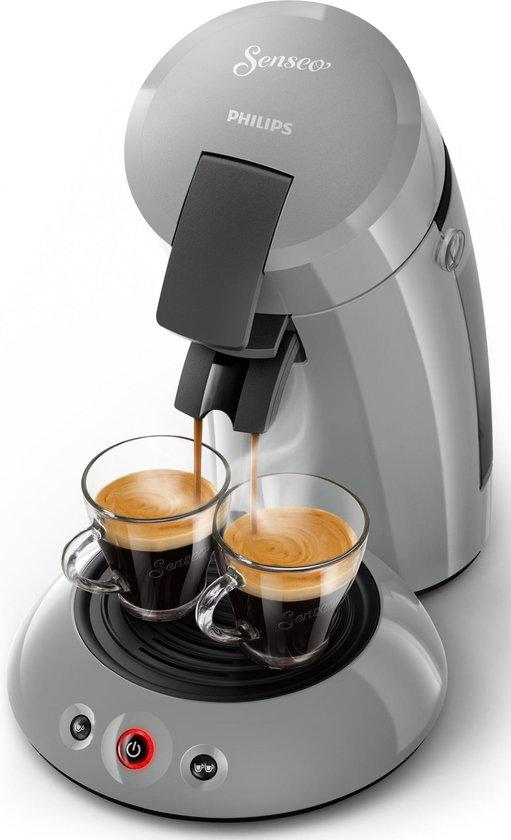 Philips Senseo Original HD6553/70 - Koffiepadapparaat - Zilvergrijs