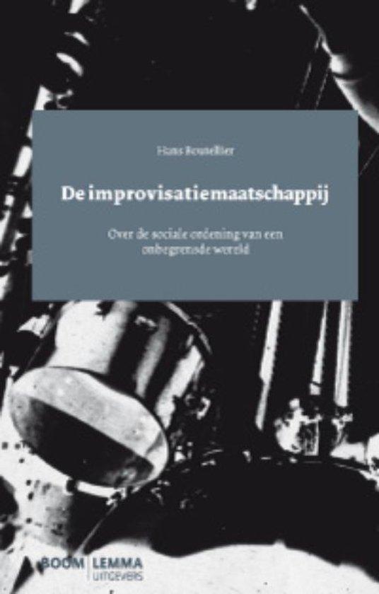 Boek cover De Improvisatiemaatschappij van Hans Boutellier (Paperback)
