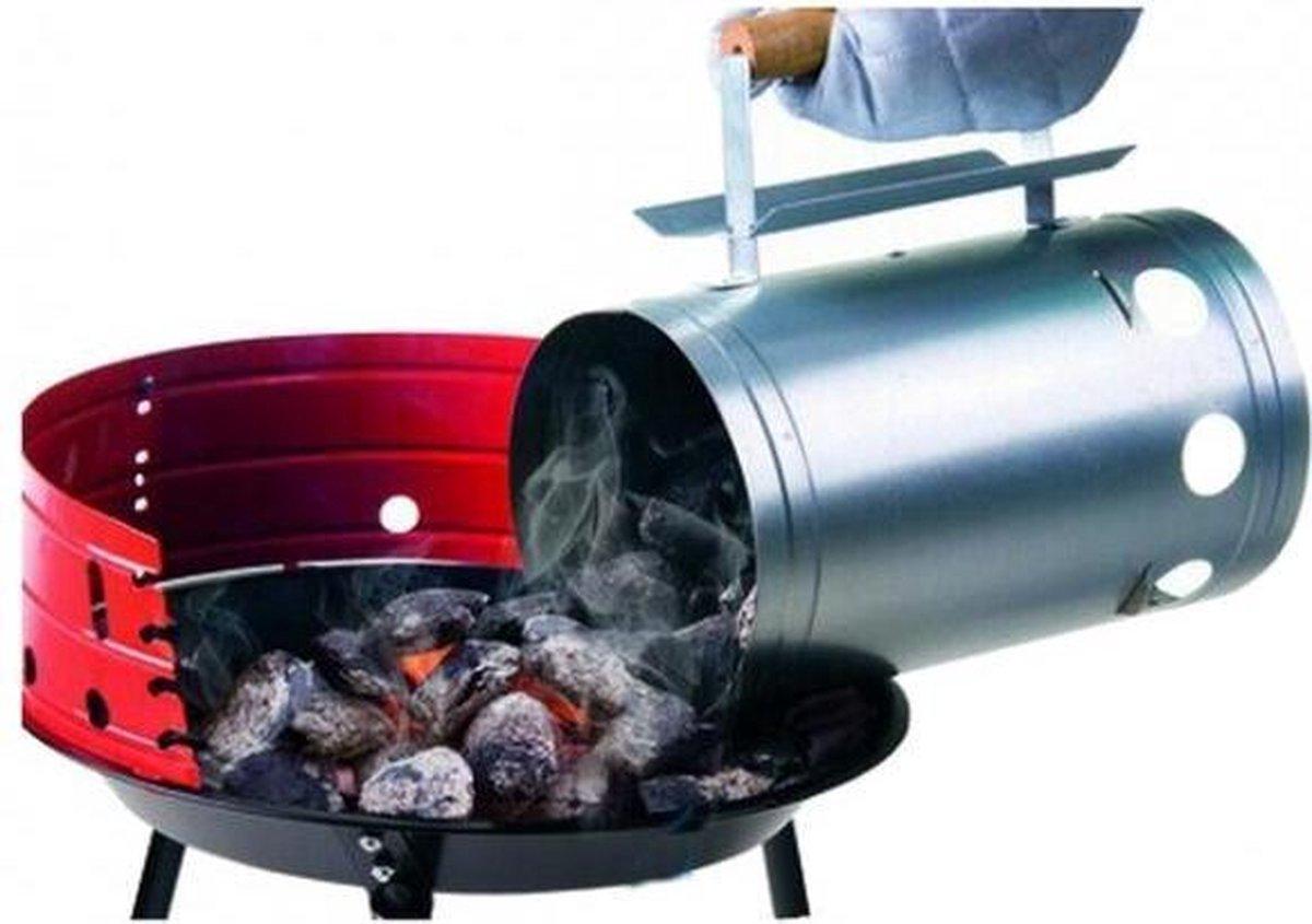 Houtskoolstarter voor barbecue - set van 2 stuks