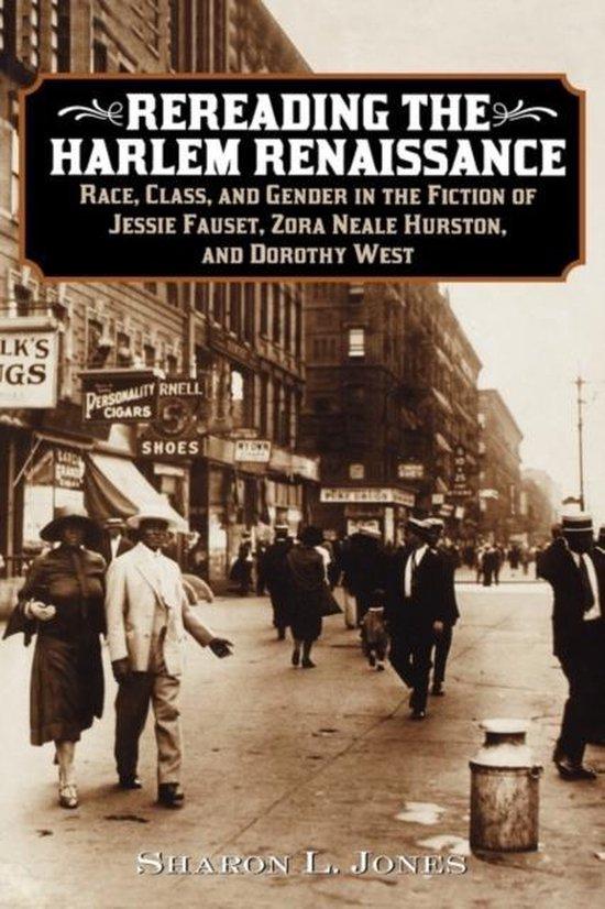 Boek cover Rereading the Harlem Renaissance van Sharon L. Jones (Hardcover)