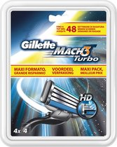 Gillette Mach3 Turbo - 20 stuks - Scheermesjes