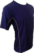 KWD Shirt Diablo korte mouw - Navy - Maat XXL
