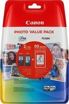 Canon PG-540XL/CL541XL - XL Inktcartridge / Zwart / Kleur