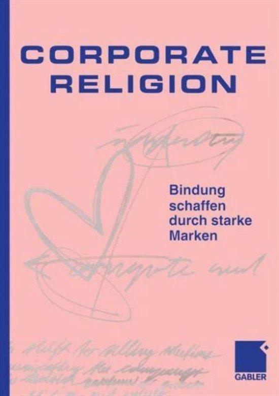 Boek cover Corporate Religion van Jesper. Kunde (Hardcover)