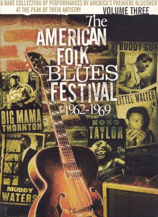 Cover van de film 'American Folk Blues F Festival'